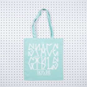 Space Girls Tote Bag Mint